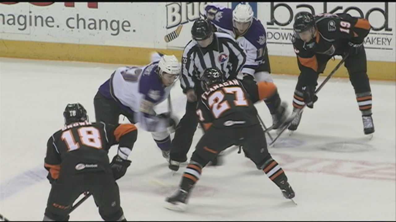 Keeping safe during hockey games