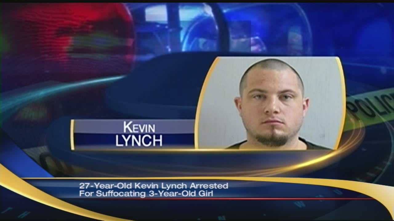 Kevin Lynch arrested for suffocating girlfriends daughter