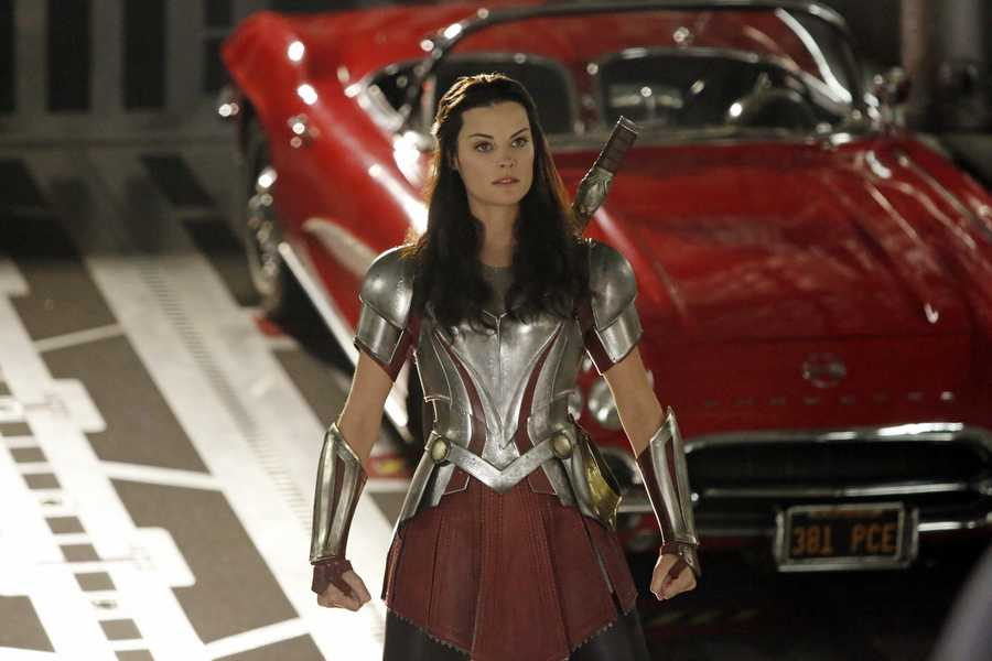 Jaimie Alexander stars as Lady Sif in the latest Marvel's Agents of S.H.I.E.L.D.