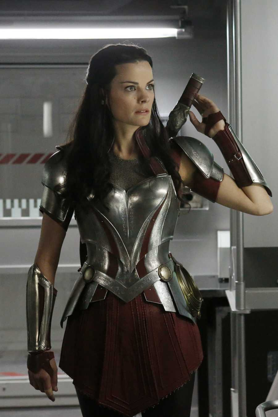 Jaimie Alexander has acted with some big movie stars.