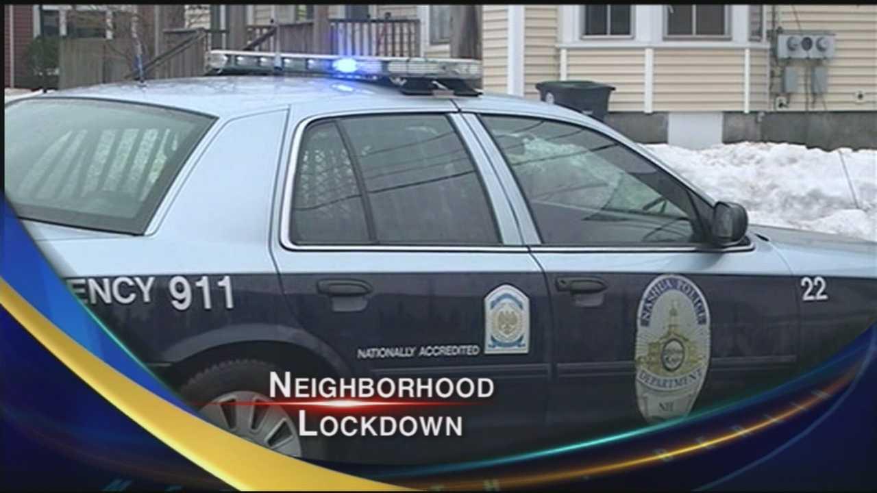 Neighborhood lockdown in Nashua