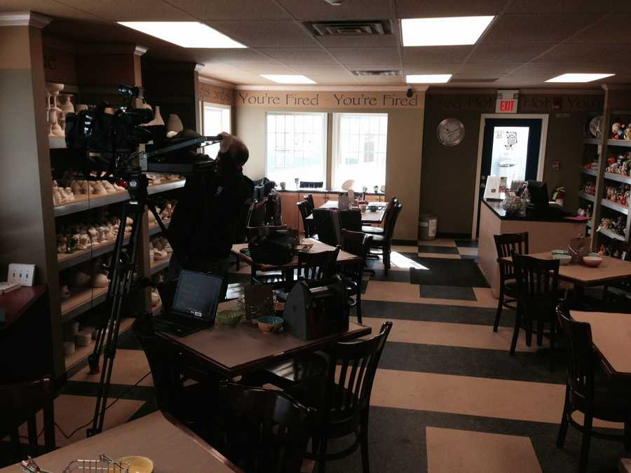 """The New Hampshire Chronicle crew visited the """"You're Fired"""" location in the Granite State."""