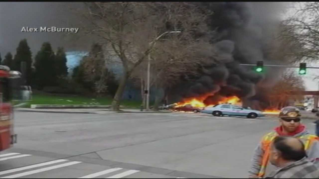 Two killed in Seattle helicopter crash