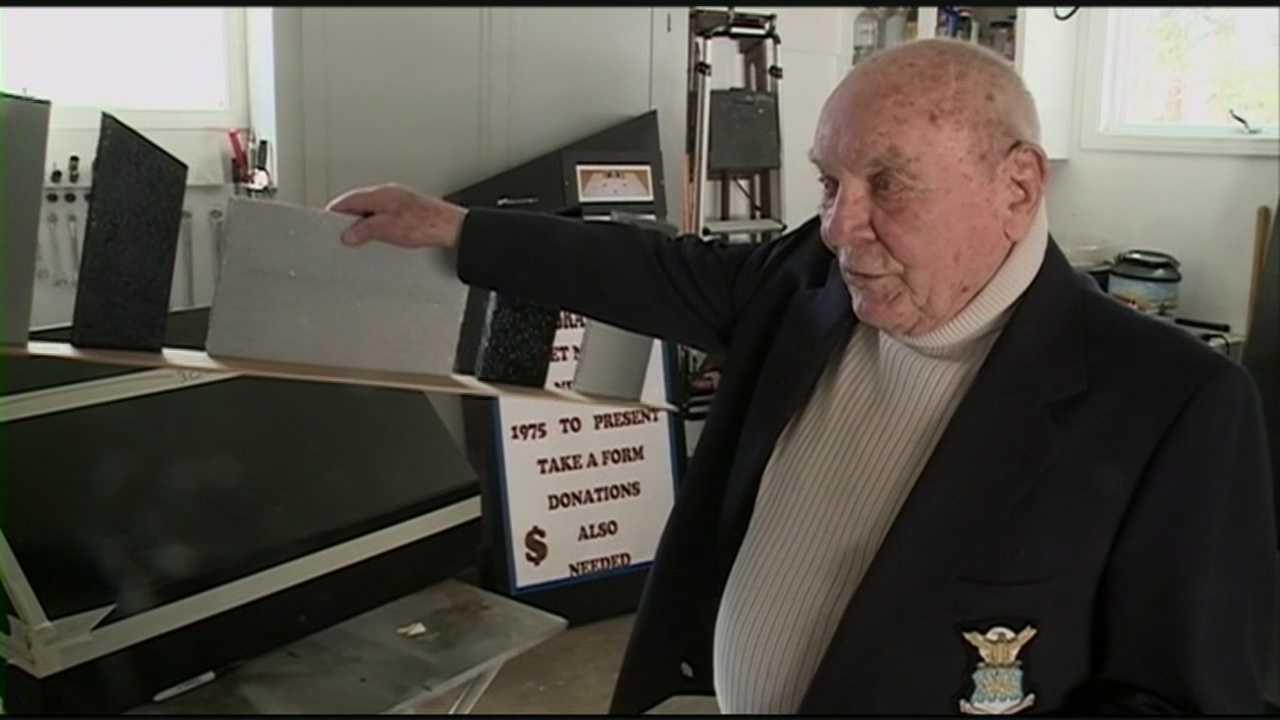 Greenland veteran hoping to add names of local veterans to memorial