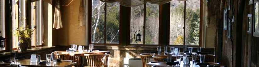 9 tie) The Coyote Grill in Waterville Valley