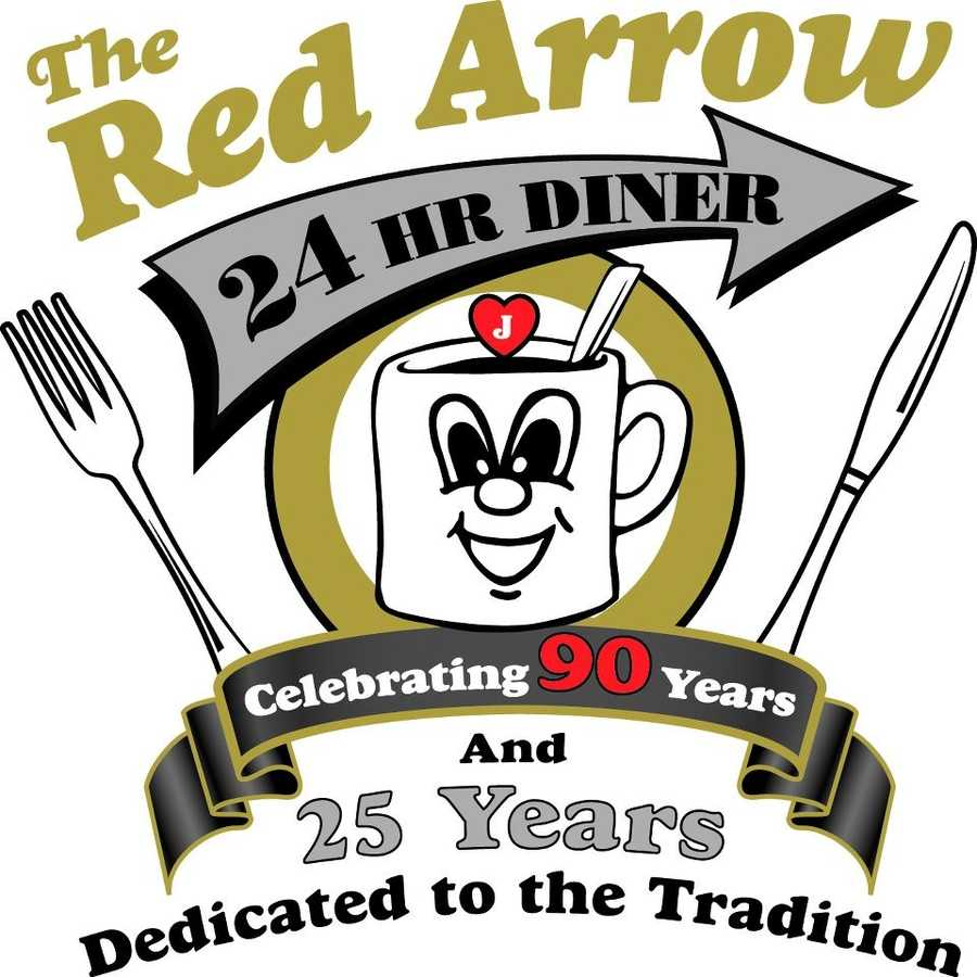 5 tie) The Red Arrow Diner in Manchester and Milford