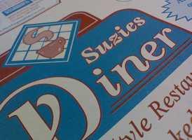 2) Suzie's Diner in Hudson