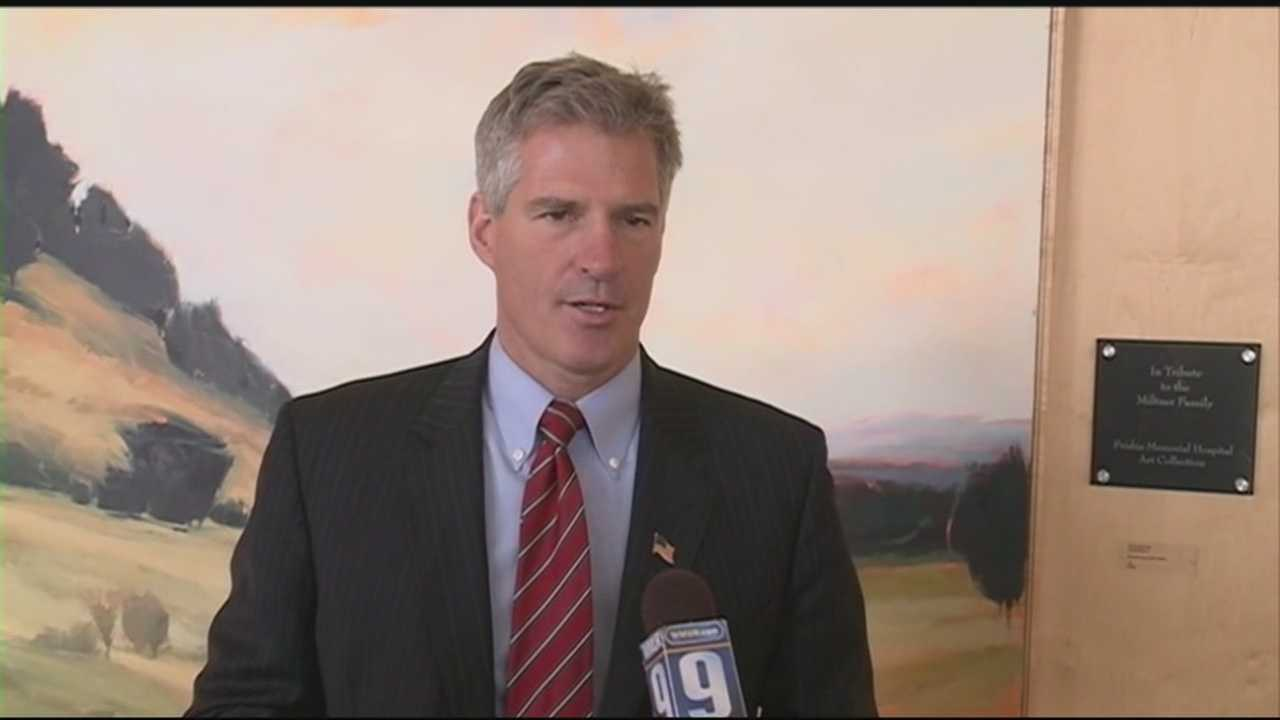 Scott Brown discusses Affordable Care Act's effects on Rochester hospital