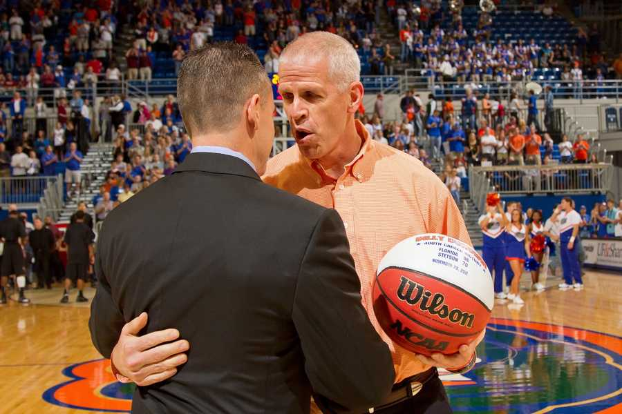 University of Florida Athletics Director Jeremy Foley grew up in New London, N.H.