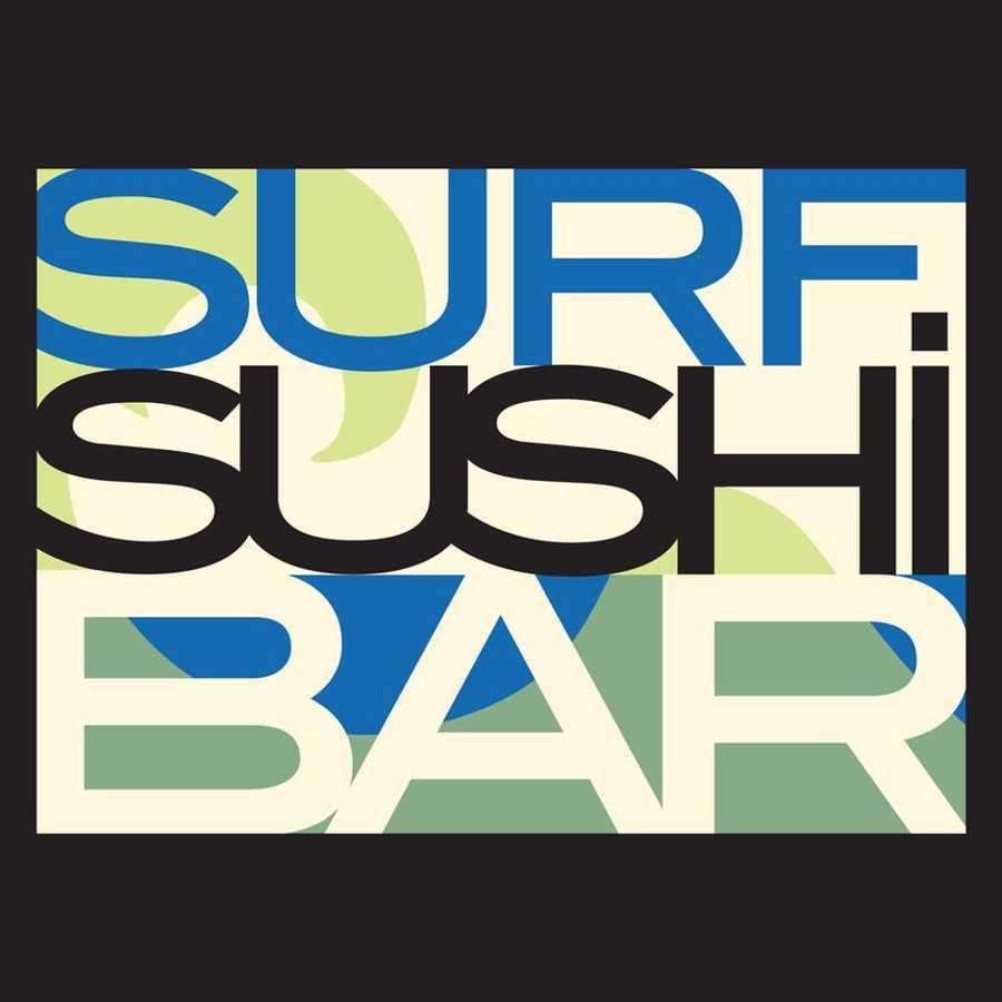 8 tie) Surf Sushi Bar in Portsmouth