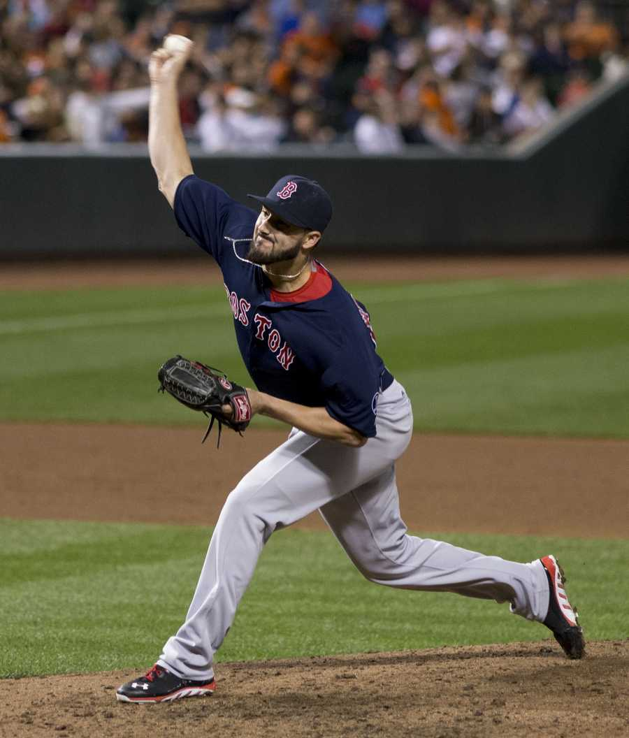 #67 Brandon Workman, pitcher - $518,000