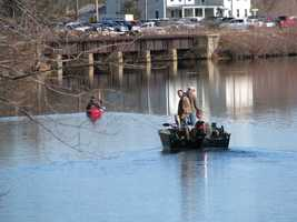 Many hit lakes and rivers for the first day of the 2014 fishing season in Laconia.