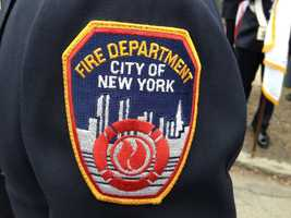 Fire departments from around the country were represented.