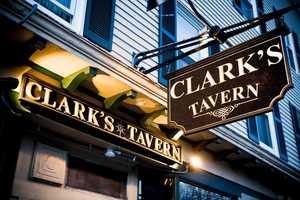 4 tie) Clark's Tavern in Milford
