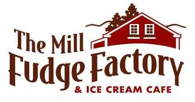 4 tie) The Mill Fudge Factory and Cafe in Bristol