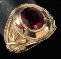 Johnny Pesky's Boston Red Sox team ring by Balfour.