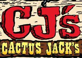 5) Cactus Jack's Great West Grill with multiple locationsthroughout New Hampshire.
