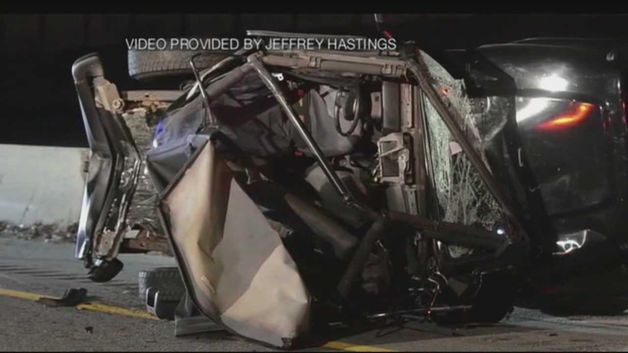 Man rushed to surgery after I-93 crash