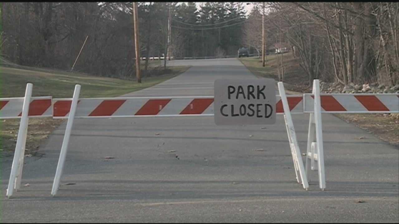 Road closed