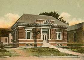 Whitefield Public Library in Whitefield, N.H.