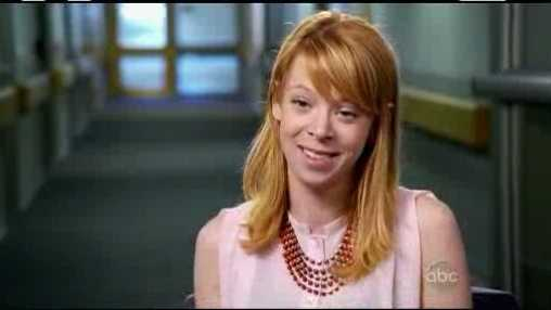 Adrianne Haslet-Davis, a professional ballroom dancer, lost a leg in the Boston Marathon bombings.