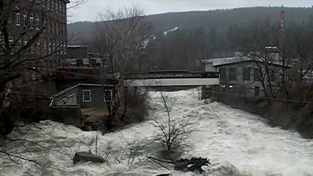 Rivers could flood Lebanon, other parts of New Hampshire