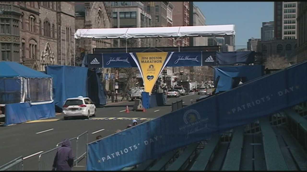 Race organizers prepare for Boston Marathon