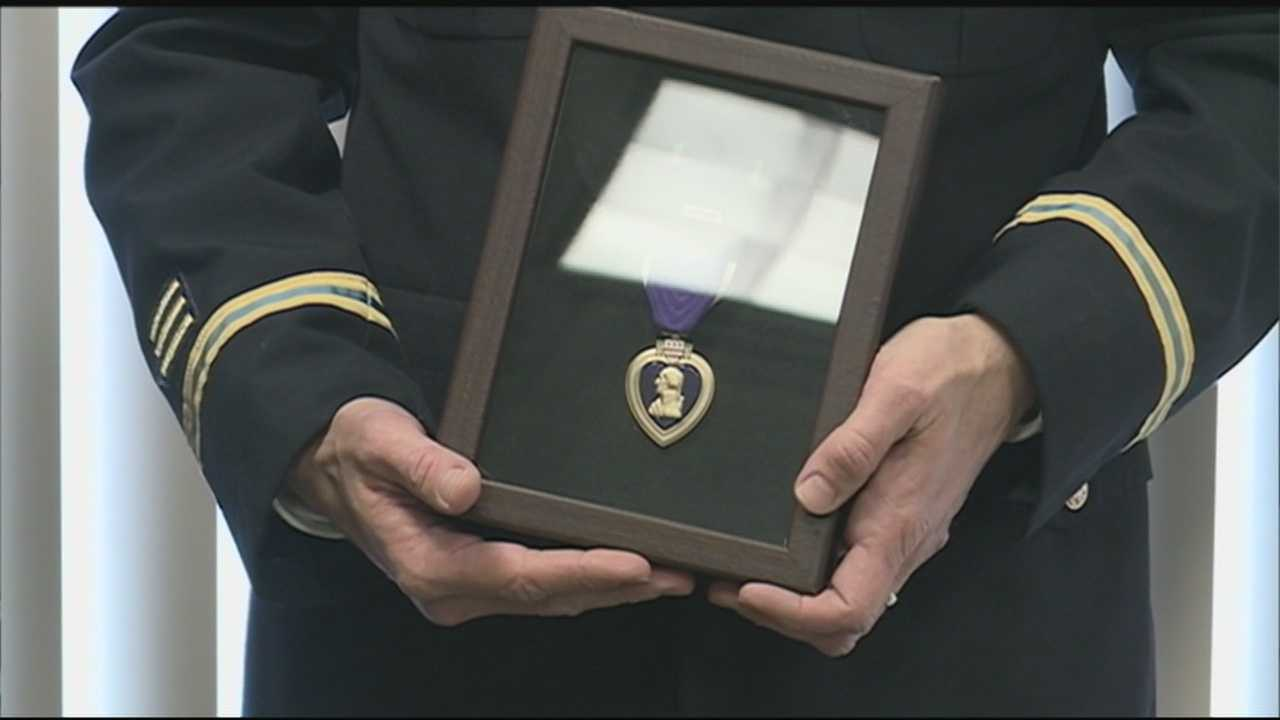 A World War I veteran from New Hampshire is being remembered with a Purple Heart.