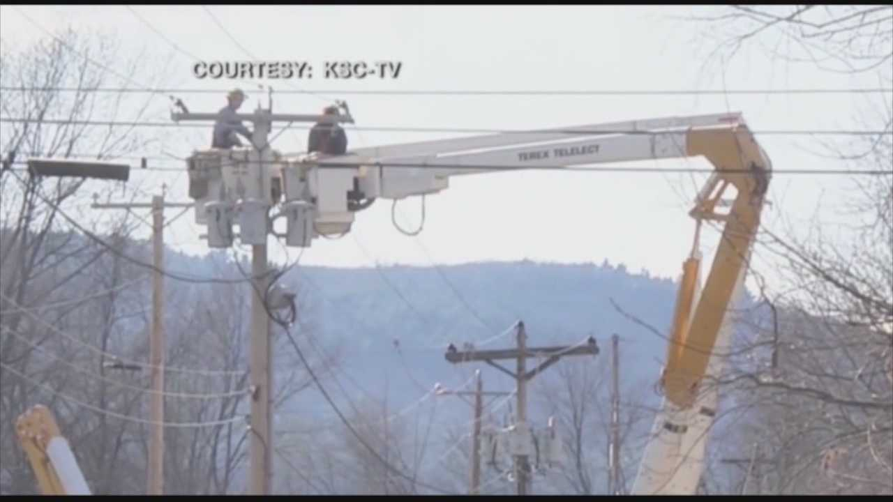 Fire officials say a man has been electrocuted by a downed power line on property next to Keene State College Athletic Complex.
