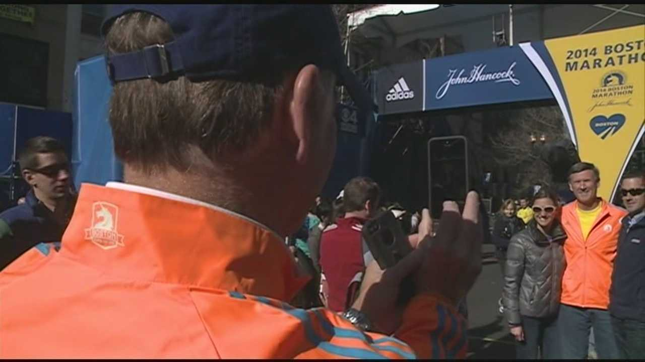 Boston Marathon Finish Line Newsnine Tonight