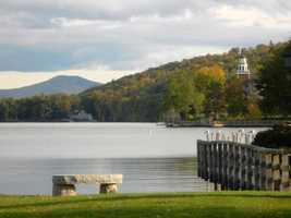 8 tie) MeredithPercent of population born in New Hampshire: 64.1%