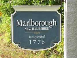 18) MarlboroughPercent of population born in New Hampshire: 60.0%