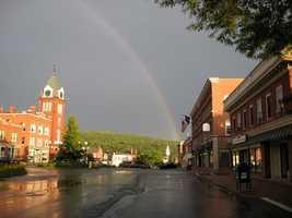 22) NewportPercent of population born in New Hampshire: 57.5%
