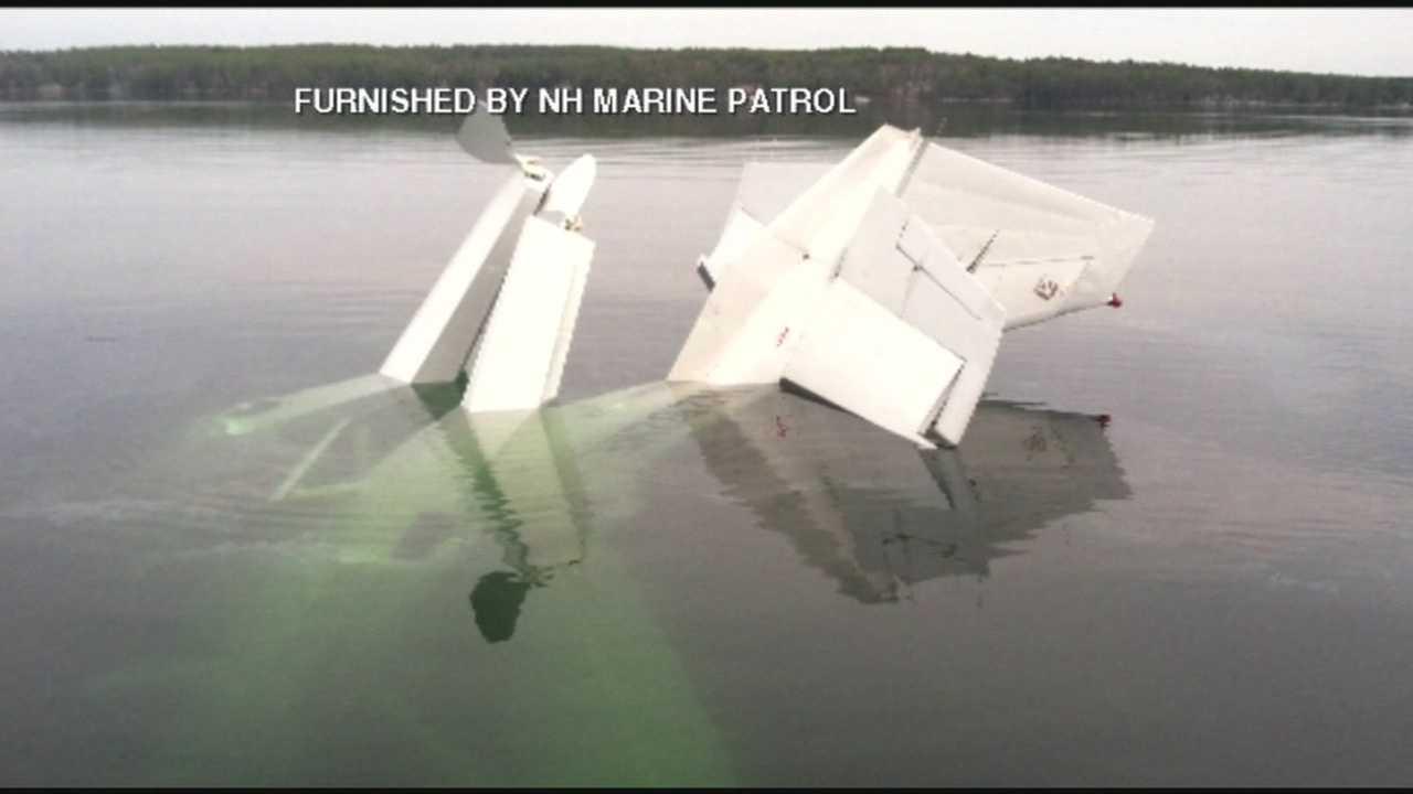 Pilot rescued after plane crash on Lake Winnipesaukee