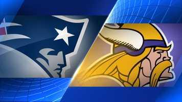 Week 2 - New England Patriots at Minnesota Vikings - Sept. 14, 1 p.m. CBS