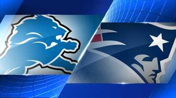 Week 12 - Detroit Lions at New England Patriots - Nov. 23, 1 p.m. FOX