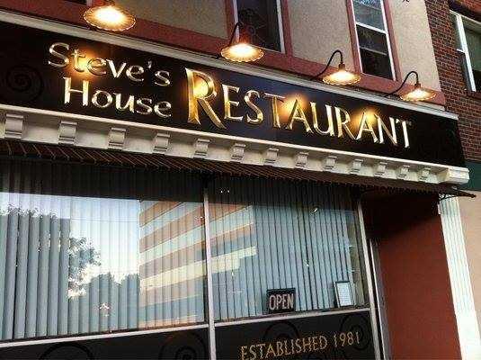 7 tie. Steve's House Restaurant in Manchester