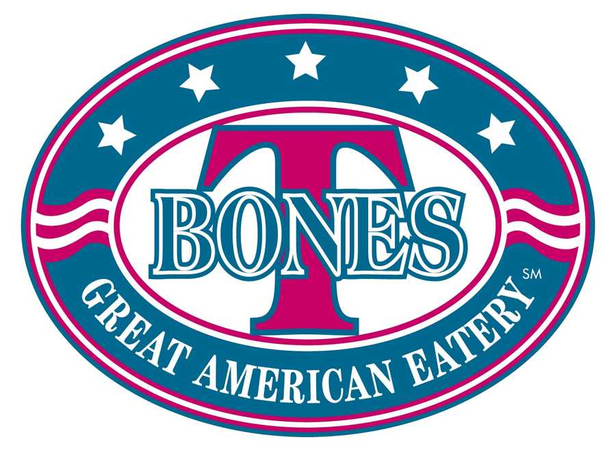 7 tie. T-Bones Great American Eatery with multiple locations throughout the state.