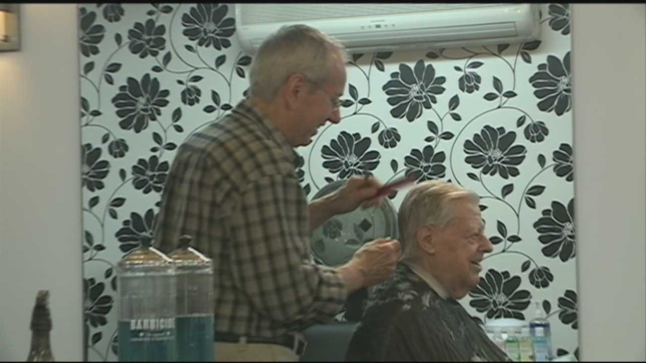 A Manchester barber is retiring in June after cutting hair for 44 years.