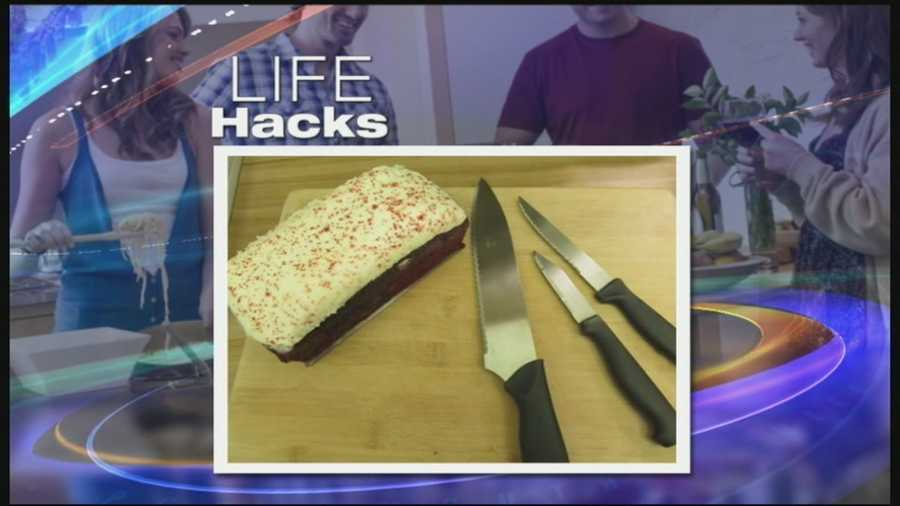 When it comes to cutting soft things like cakes and cheeses, put those knives away...