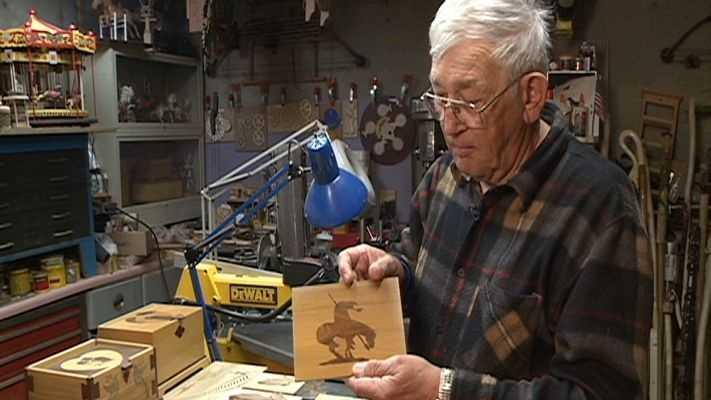 Woodworker Roger Austin