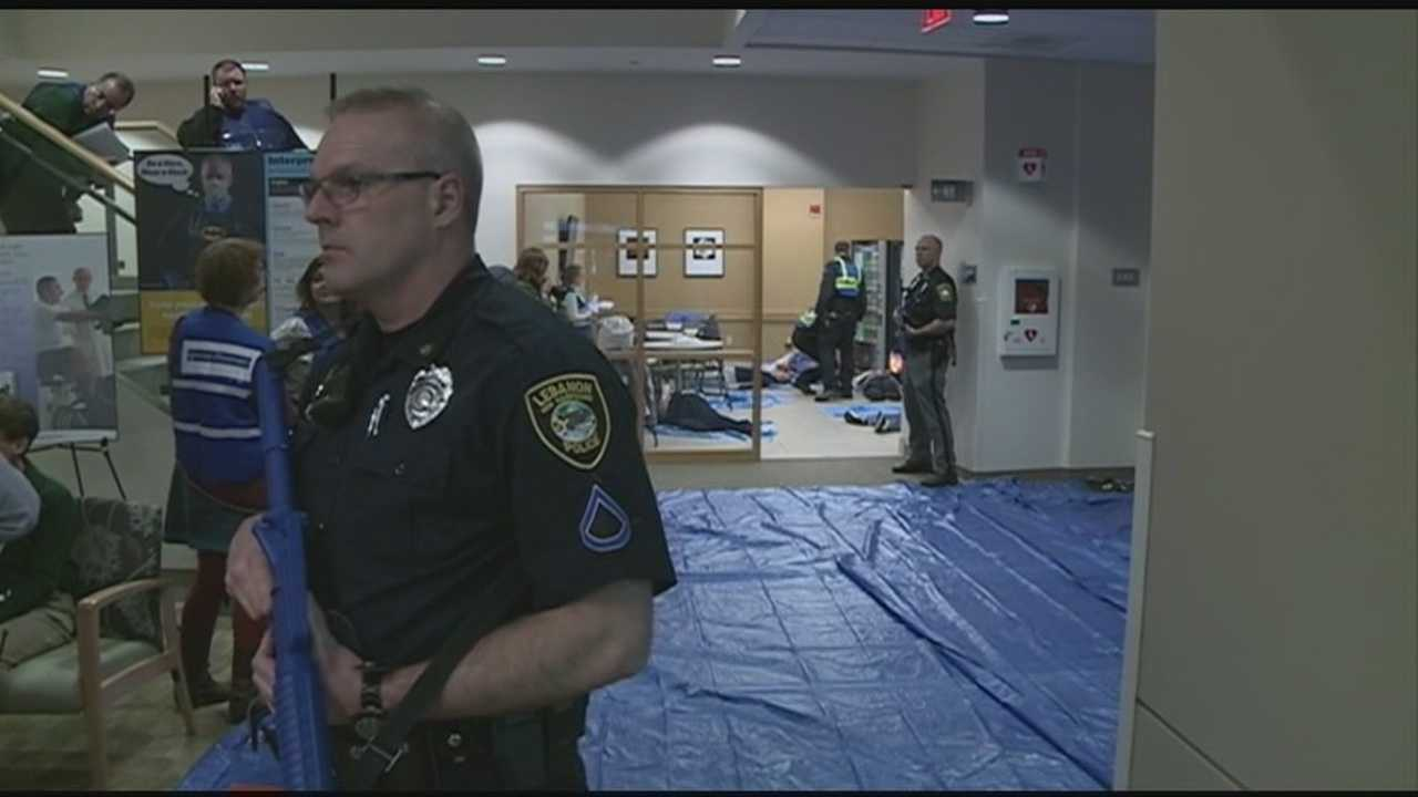 Emergency drill simulates shooting at hospital clinic