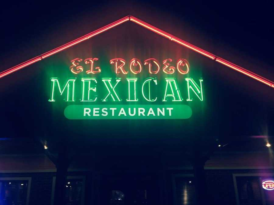 7 tie. El Rodeo in Newington