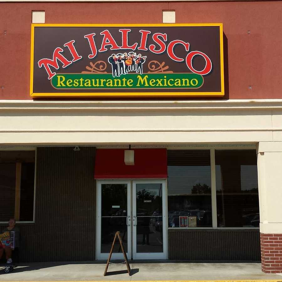 7 tie. Mi Jalisco Restaurante Mexicano in Milford and Keene.