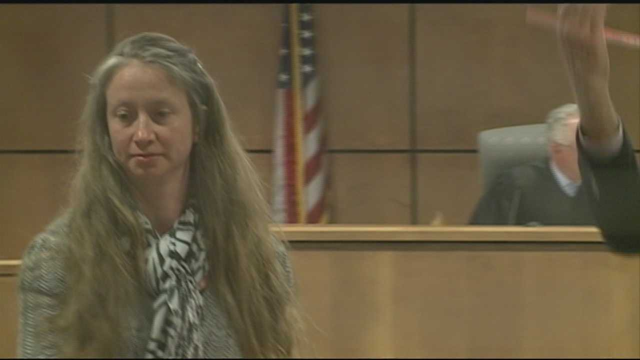 Woman accused of stabbing ex charged with assault
