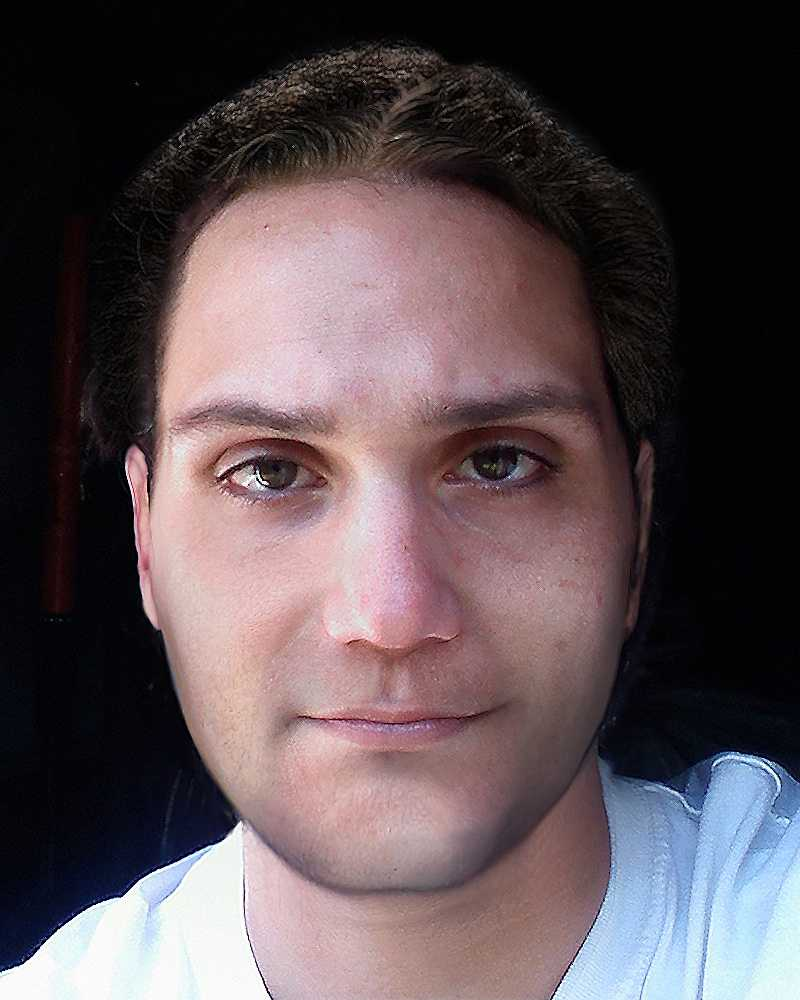 Investigators had believed Dion may have changed his appearance. This composite image shows what he might look like clean-shaven.