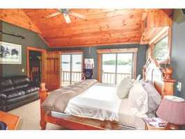 The property also features four bedrooms, four bathrooms and two half-bathrooms.