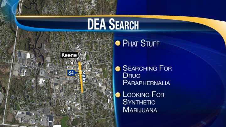 map_Keene DEA bust