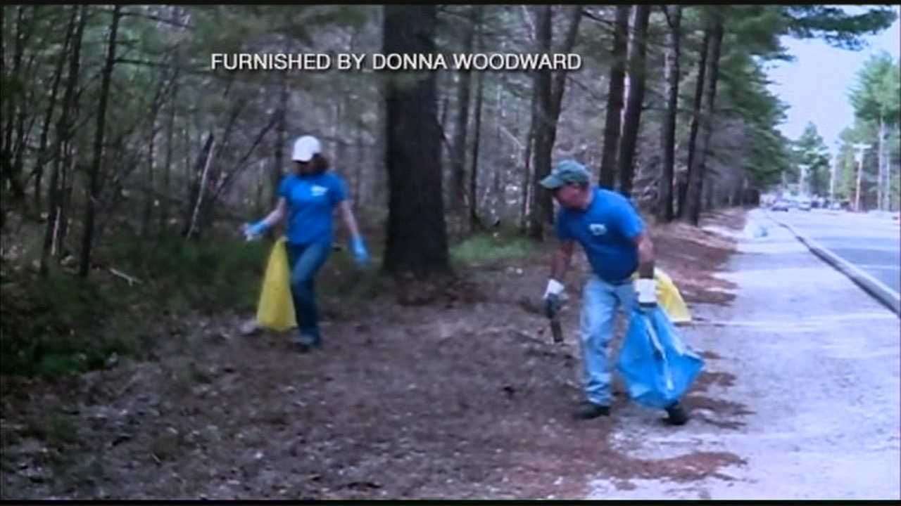 Needles found during town trash cleanup