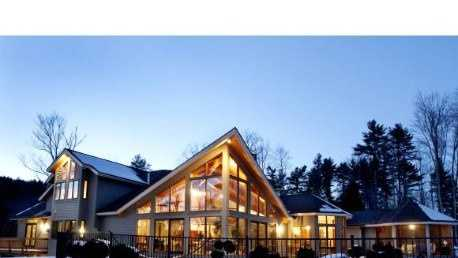 This Keene home on Summit Road is listed at $1,495,000, and is situated on a30.9 acre estate.